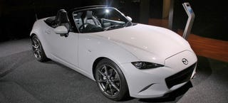 Illustration for article titled 2016 Mazda Miata Will Have 155 HP, 148 Pound-Feet Of Torque In America