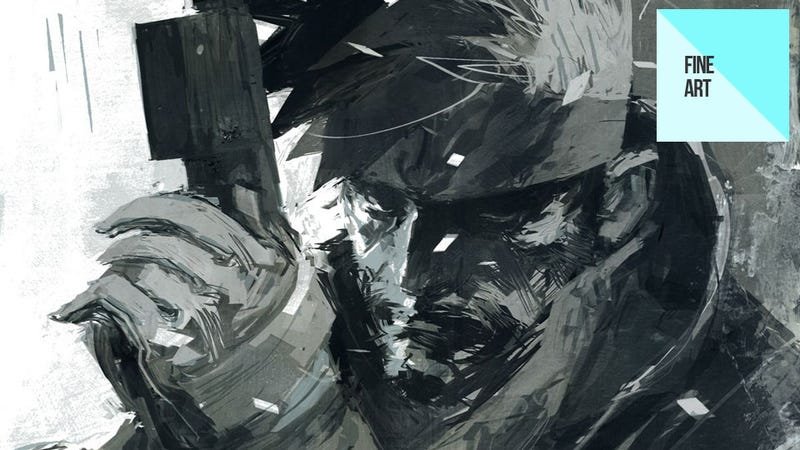 Illustration for article titled The Dark, Moody Metal Gear Art of Ashley Wood