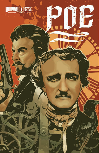"""Illustration for article titled Detective Poe: Quoth the Raven, """"The Game is Afoot"""""""