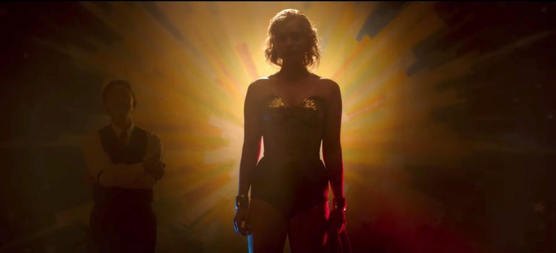 Several screenings of Wonder Woman included this mysterious trailer. Image: YouTube