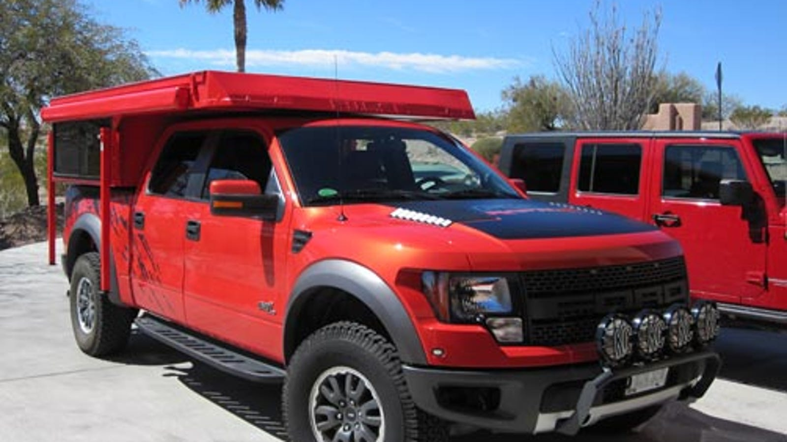 Now You Can Finally Live In Your Ford Raptor With Camper S