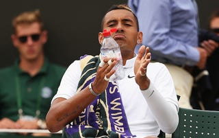 Illustration for article titled Nick Kyrgios Had A Meltdown At Wimbledon