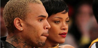 Chris Brown and Rihanna (Victor Decologon/Getty Images)