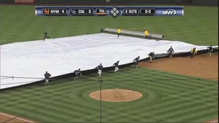 Rockies Grounds Crew Member Trapped Under Tarp, No One Notices