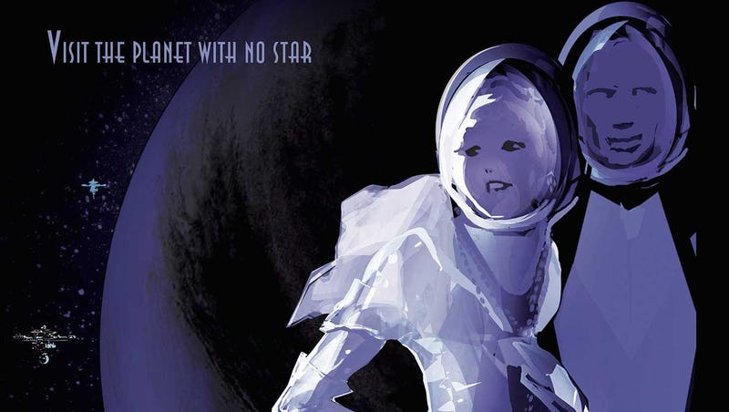 Illustration for article titled NASA's New Retro Travel Posters Make Us Want to Go Visit an Exoplanet