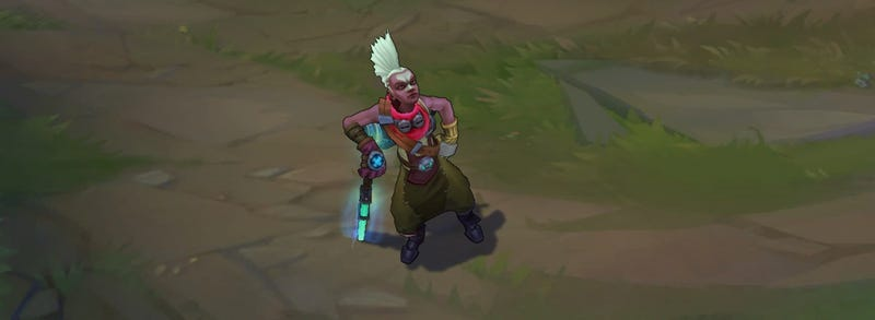 Illustration for article titled League of Legends' New Champion Ekko Can Bend Time