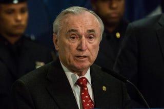 New York City Police Commissioner Bill BrattonAndrew Burton/Getty Images