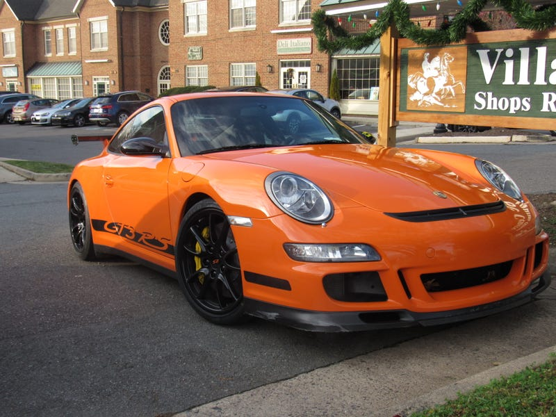 997.1 GT3 RS nobody paid attention to