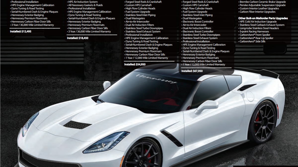 How Hennessey Plans To Make The Corvette Stingray Even More Insane