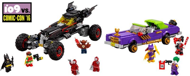 lego batman calls his new batmobile the speedwagon