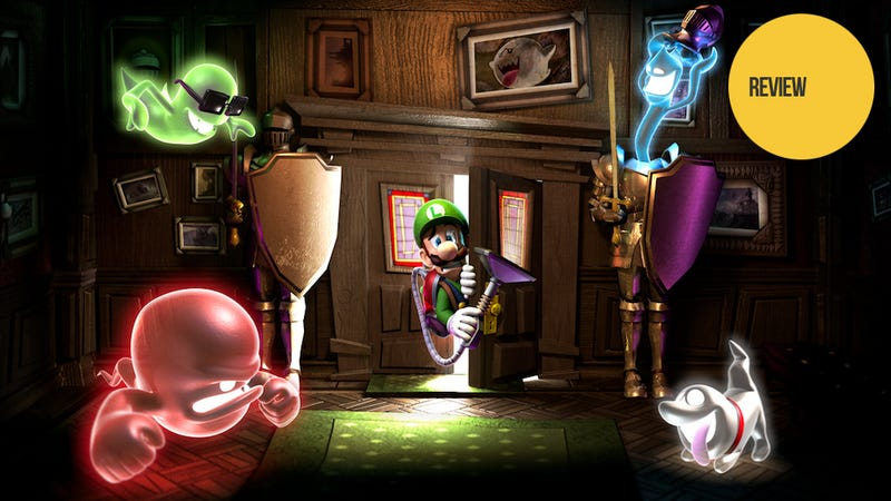 Illustration for article titled Luigi's Mansion: Dark Moon: The Kotaku Review