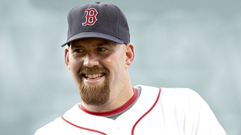 Illustration for article titled Kevin Youkilis Keeps Everyone On Bus Awake With Another One Of His Nasty Sex Stories