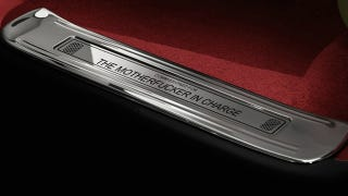 Illustration for article titled Yes, you can customize your Bentley door sill to say anything