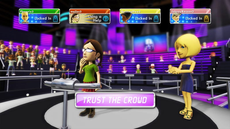 Illustration for article titled That Time Microsoft Ran A Live Game Show On Xbox 360