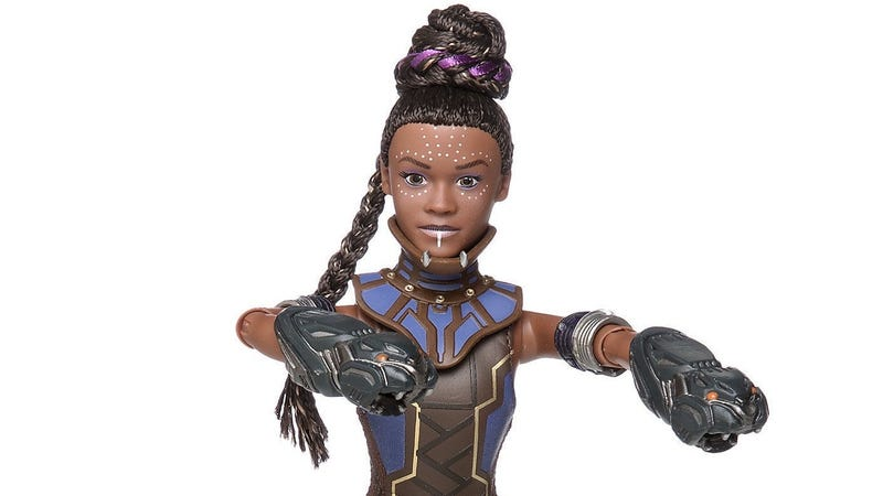 Shuri, ready for action.