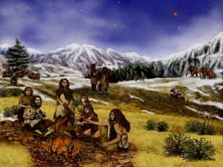 Illustration for article titled Neanderthals ate their fruits and vegetables