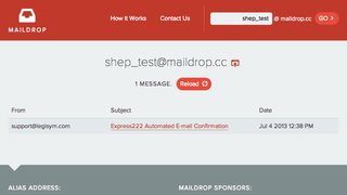 Illustration for article titled MailDrop Provides Persistent, No-Frills Burner Email Accounts