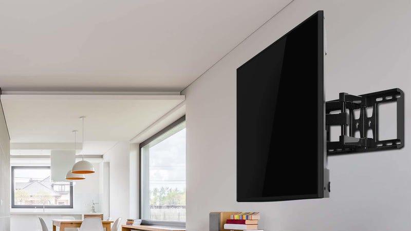 Perlesmith Full Motion TV Wall Mount   $34   Amazon   Promo code 84BDSVCU