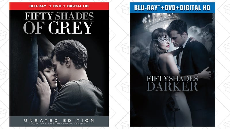amazon is tying up both fifty shades blu rays into a 28. Black Bedroom Furniture Sets. Home Design Ideas