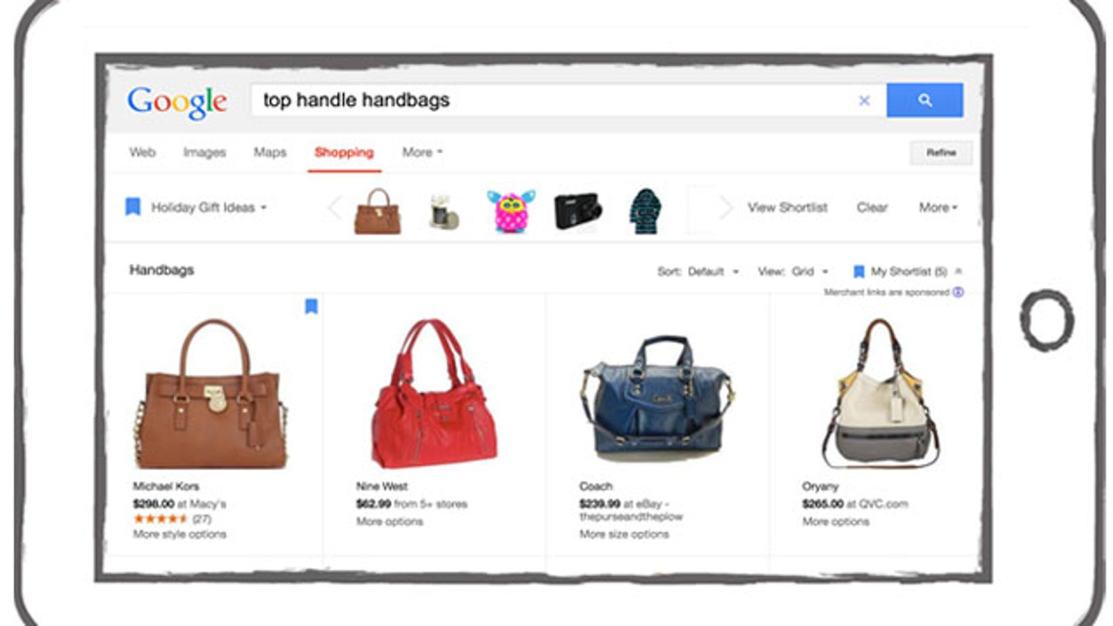 Google Shopping Adds Visually Similar Items, 360-Degree