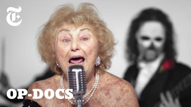 96-year-old Holocaust survivor is now an extremely badass death metal singer