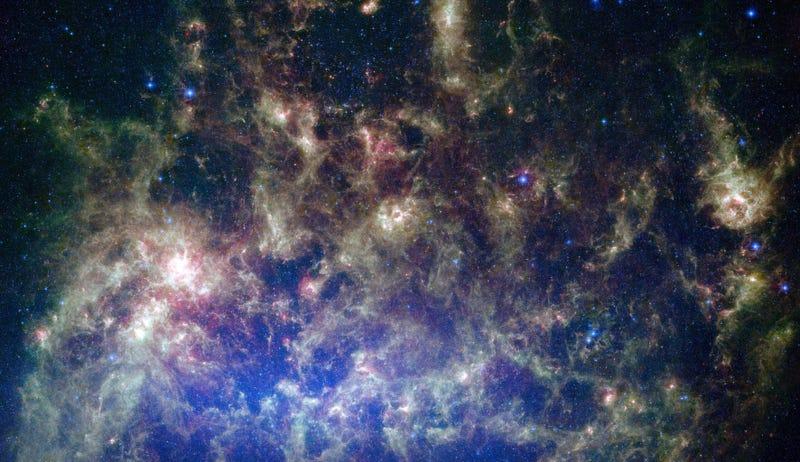 Imagen: Gran Nube de Magallanes (vía NASA).