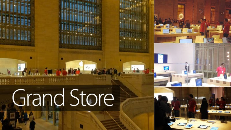 Illustration for article titled Sneak a Peek at the Finished Apple Store in NYC's Grand Central Terminal (Updated)
