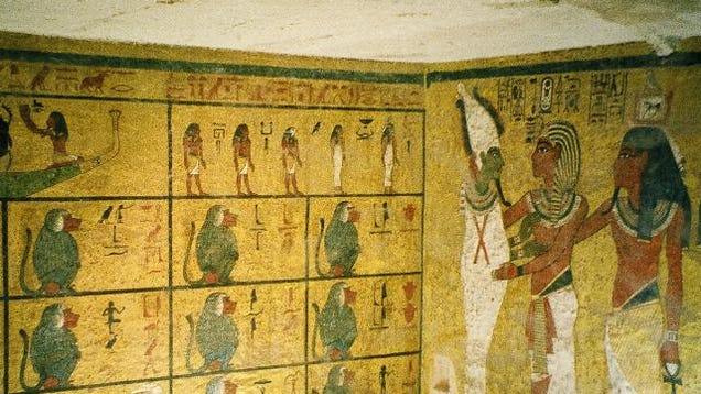 The Curse Of King Tuts Tomb Torrent: New Clues Point To Hidden Chambers At King Tut's Tomb