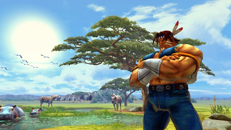 Illustration for article titled The New Stages of Super Street Fighter IV