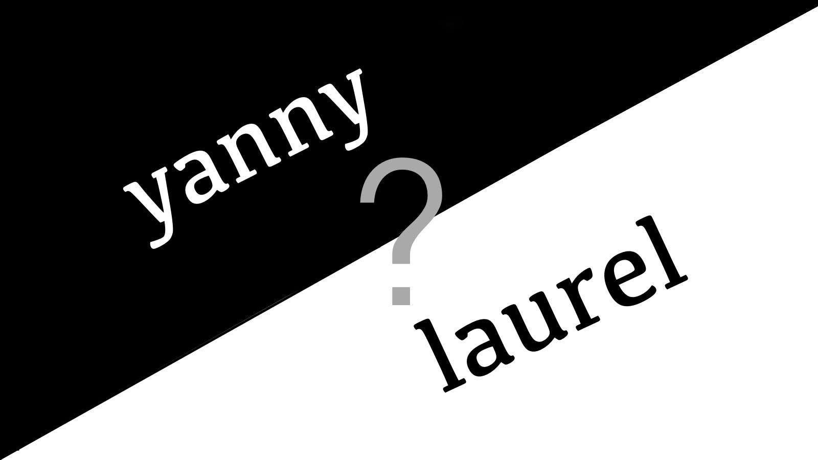 Is This Voice Saying 'Yanny' or 'Laurel'? Here's the Only Real Answer