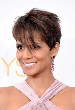 Halle Berry poses in the press room during the 66th Annual Prime-Time Emmy Awards at Nokia Theatre L.A. Live on Aug. 25, 2014, in Los Angeles.Jason Merritt/Getty Images