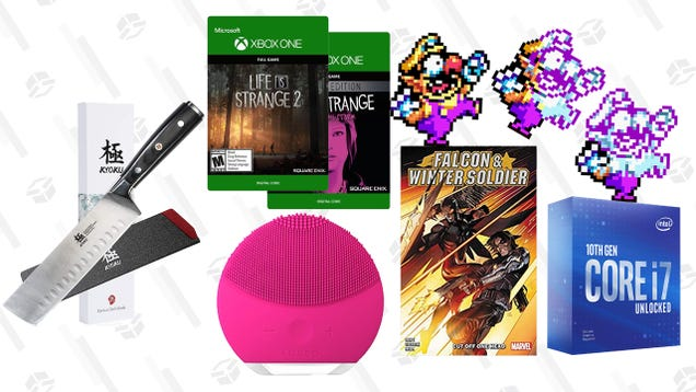 Friday s Best Deals: Intel Core i7-10700KF Processor, Xbox Digital Game Sale, Kyoku Japanese Nakiri Knife, Foreo Luna 2, Falcon & Winter Soldier Comics, and More