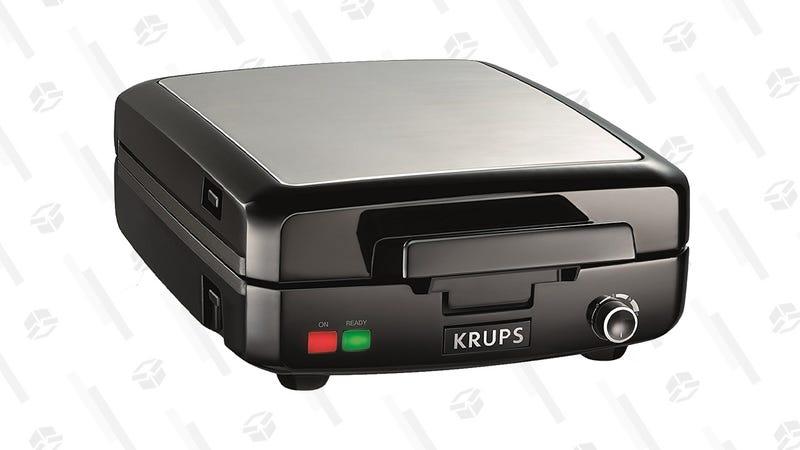 Krups GQ502D Waffle Maker | $31 } Amazon