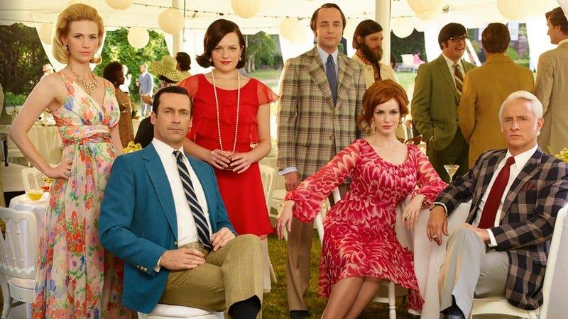 Mad Men cast (Photo: Frank Ockenfels 3/AMC)