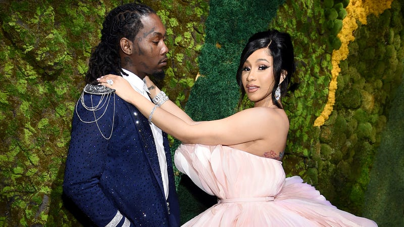 Illustration for article titled Cardi B and Offset Brought in Priests to Help With Cheating Problems