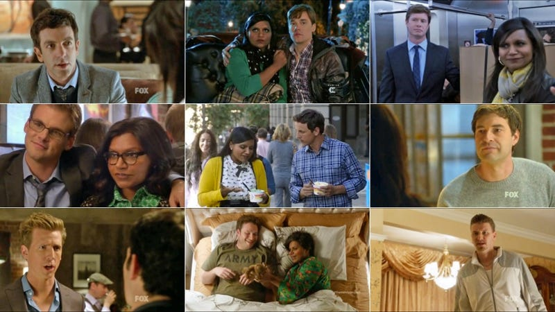 Illustration for article titled Mindy Kaling Only Makes Out With White Guys on The Mindy Project
