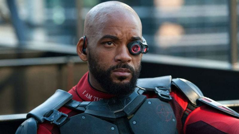 Will Smith as Deadshot in Suicide Squad (2016)