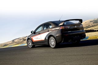 Illustration for article titled Jim Russell Lancer Evolution Experience: Because Oversteer Kicks Ass