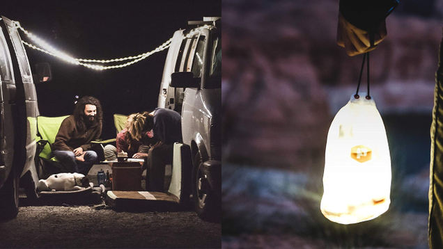 With 5-foot and 10-foot options, the Luminoodle produces 180 lumens of light. It's also waterproof and ultra-lightweight, making it the perfect portable option for outdoors.