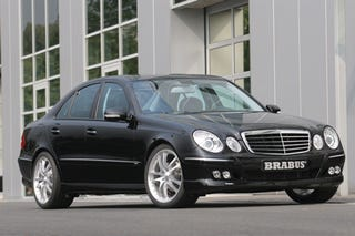 Illustration for article titled Mercedes E  300 BLUETEC Turbodiesel Gets A BRABUS Boost