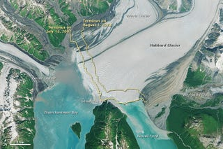 Illustration for article titled This Rare Advancing Glacier Is Set To Transform An Alaskan Fjord