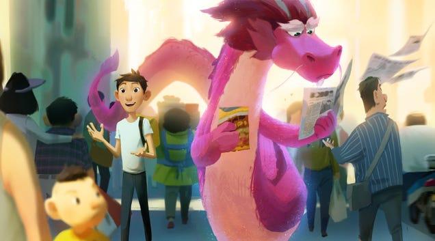John Cho Lends His Voice to Netflix s Wish Dragon