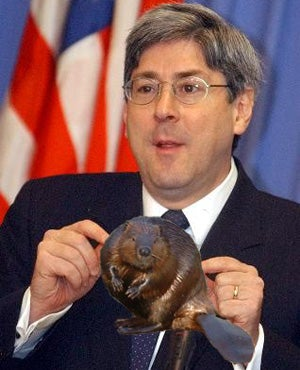 Illustration for article titled Doug Feith Defends Torture, But Knows Nothing Of Beaver