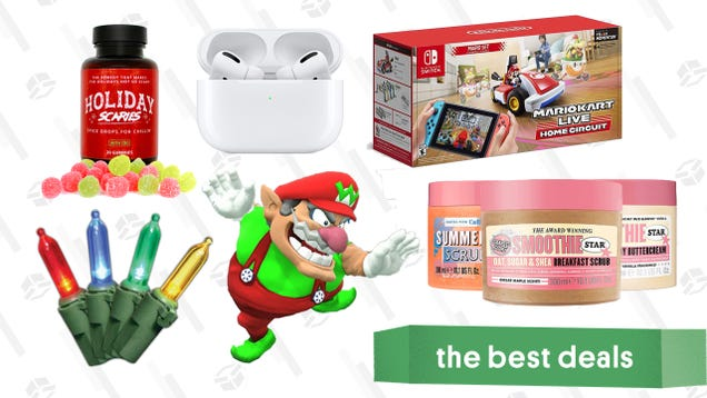 Thursday s Best Deals: AirPods Pro, Mario Kart Live, CBD Spiced Drops, New iPad, Super Mario 3D All-Stars, Ulta Soap & Glory, Assassin s Creed Valhalla, and More