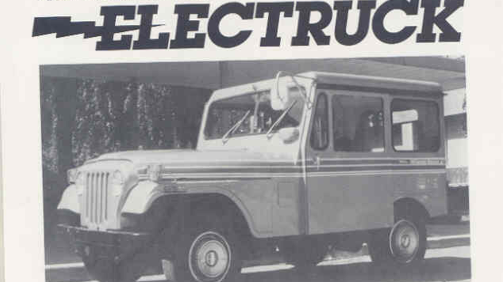 Nasas 1977 Paper On The State Of Art Electric Postal Jeep Is Dj5 Wiring Diagram Fascinating