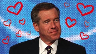 Illustration for article titled If You Don't Have A Crush On Brian Williams, You Are Dead Inside