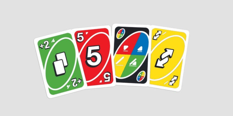 Illustration for article titled Uno Releases New Card Design For Color Blind Players