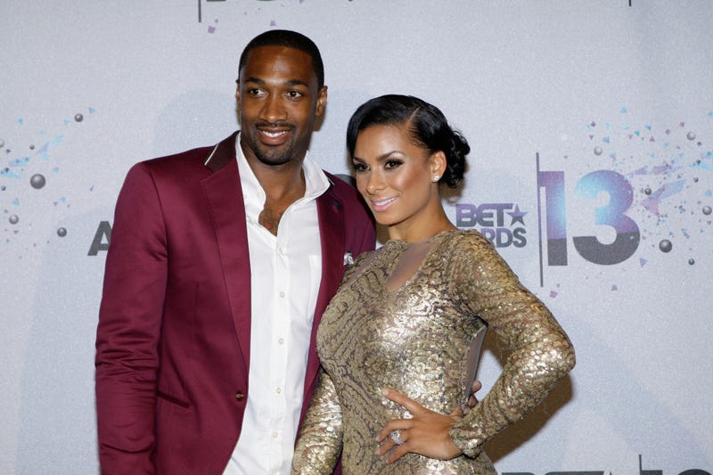 Gilbert Arenas and Laura Govan in Los Angeles in 2013Mike Windle/Getty Images for BET