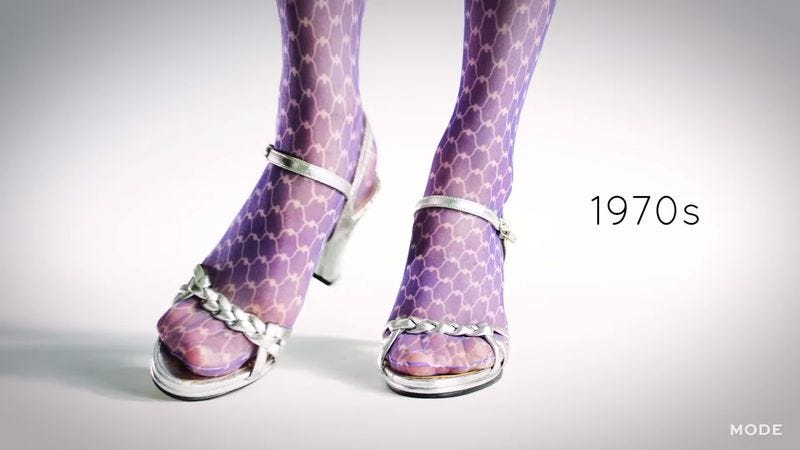 100 Years Of Fashion: High Heels (Screenshot: YouTube)
