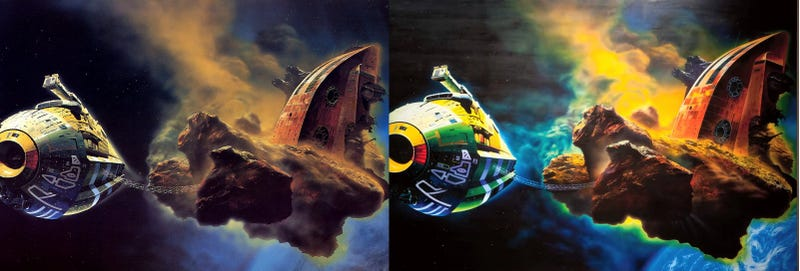 Illustration for article titled How a Science Fiction Book Cover Became a $5.7 Million Painting